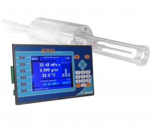 Sofraser 9701 : procesador de viscosidad y densidad